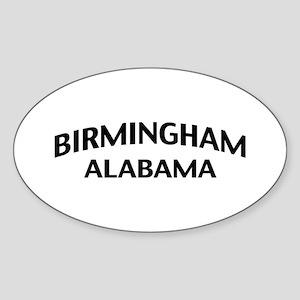 Birmingham Alabama Sticker (Oval)