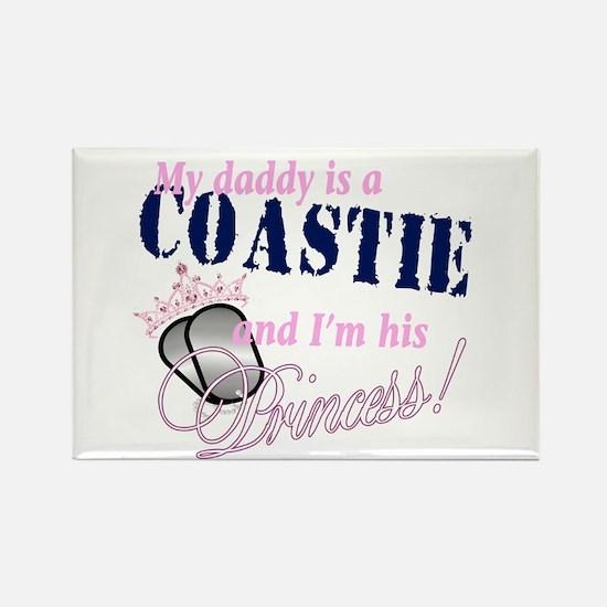 Coastie's Princess Rectangle Magnet