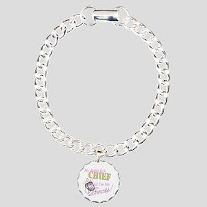 Chief's Princess Charm Bracelet, One Charm
