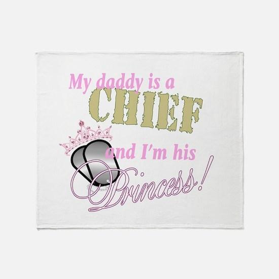 Chief's Princess Throw Blanket