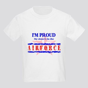 Air Force Proud Sister Kids T-Shirt
