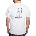Precision 21 White T-Shirt