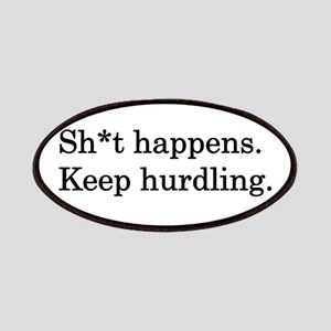 Keep Hurdling Patches