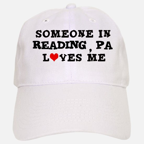 Someone in Reading Baseball Baseball Cap