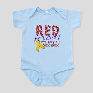 Red Friday Infant Bodysuit
