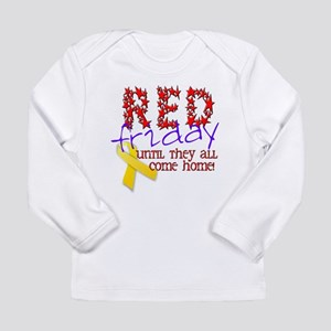 Red Friday Long Sleeve Infant T-Shirt