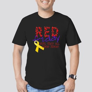 Red Friday Men's Fitted T-Shirt (dark)