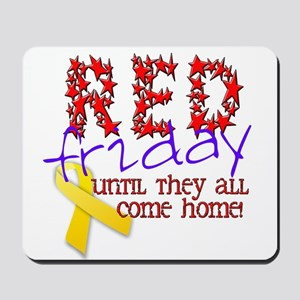 Red Friday Mousepad