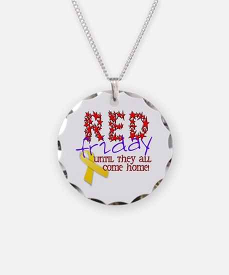 Red Friday Necklace
