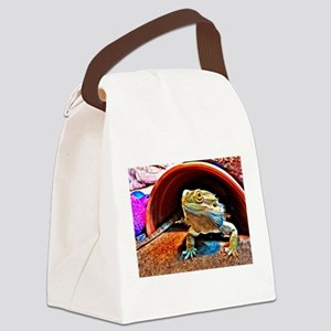 Beardie 6 Canvas Lunch Bag