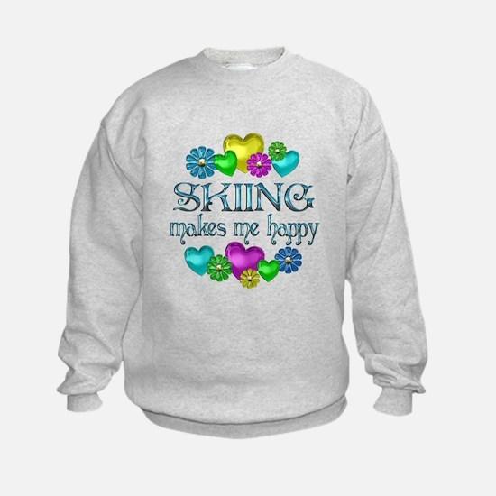 Skiing Happiness Sweatshirt