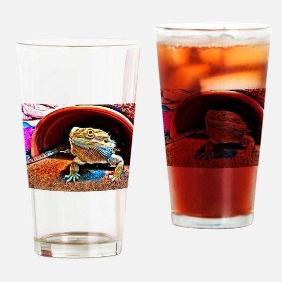 Beardie 6 Drinking Glass