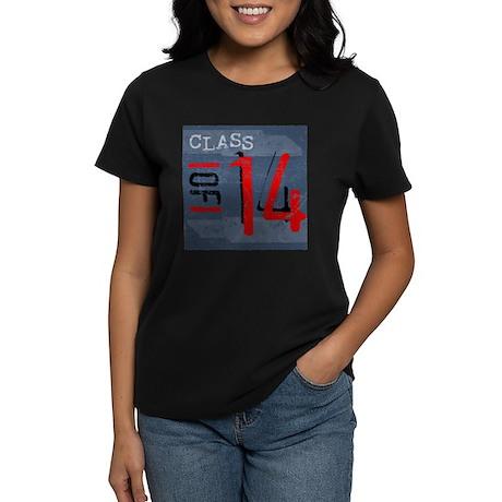 Class of 14 Grunge Women's Dark T-Shirt