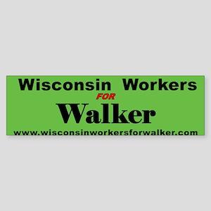 WalkerHeader3Bumper Bumper Sticker