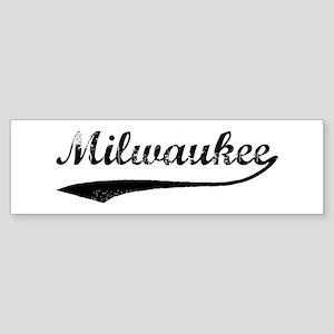 Vintage Milwaukee Bumper Sticker