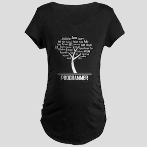 Programmer Tree T-Shirt Maternity T-Shirt