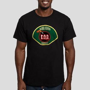 Sheriff Bomb Squad Men's Fitted T-Shirt (dark)