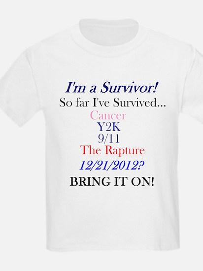 Cute 2012 survivor mayan T-Shirt