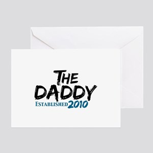 The Daddy Est 2010 Greeting Card