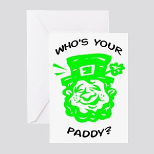 Who's Your Paddy? Greeting Cards (Pk of 10)