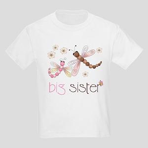 big sister dragonflies Kids Light T-Shirt