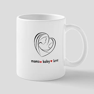 Mama Love Peace Mug