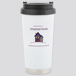 Attached Family Stainless Steel Travel Mug