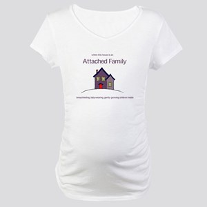 Attached Family Maternity T-Shirt