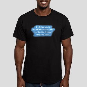 Imaginary Friends Men's Fitted T-Shirt (dark)