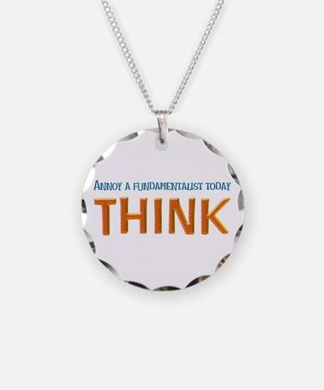 Funny Liberal religion Necklace