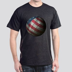 USA Volleyball Dark T-Shirt