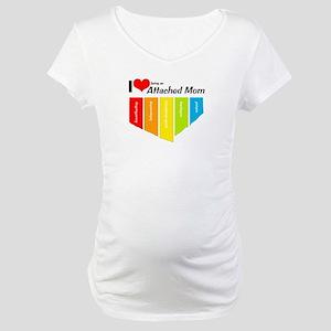I <3 Attachment Maternity T-Shirt