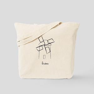 Dreamer Windmill Tote Bag