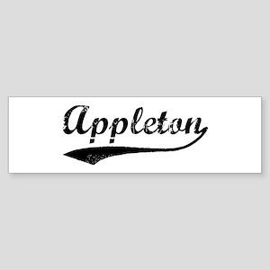 Vintage Appleton Bumper Sticker