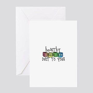 Baby-Dust Greeting Cards