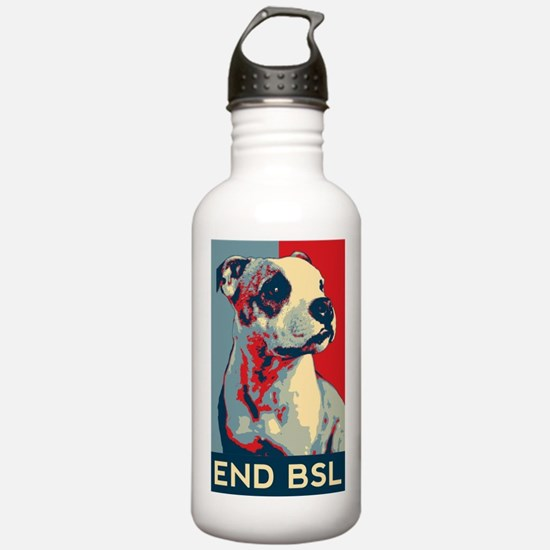 Unique American staffordshire terrier Water Bottle
