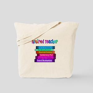 Retired Teacher Tote Bag