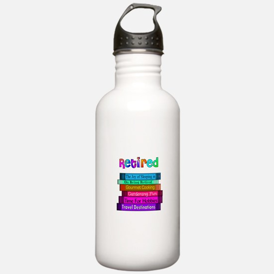 Retired Professionals Water Bottle