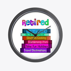 Retired Professionals Wall Clock