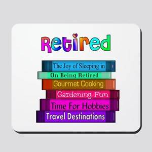 Retired Professionals Mousepad