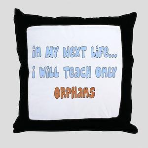Retired Teacher Throw Pillow