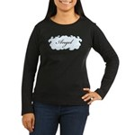 Angel Women's Long Sleeve Dark T-Shirt