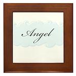 Angel Framed Tile
