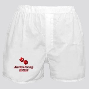 Are you feeling lucky? Boxer Shorts