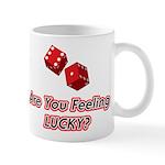 Are you feeling lucky? Mug
