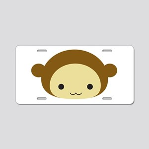 Monkey Aluminum License Plate