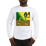 Yellow Green (no text) Long Sleeve T-Shirt