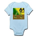 Yellow Green (no text) Infant Bodysuit