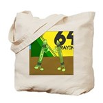 Yellow Green (no text) Tote Bag