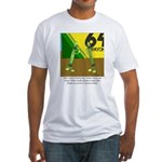 Yellow Green Fitted T-Shirt